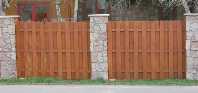 Stone Column Shadow Box